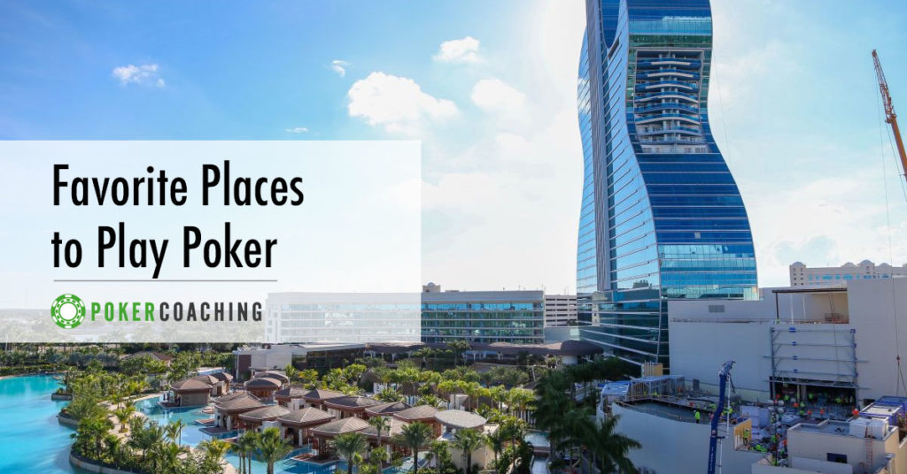 Places to Play Poker