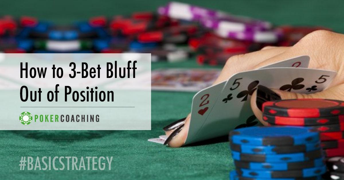 3-bet bluff | Pokercoaching.com