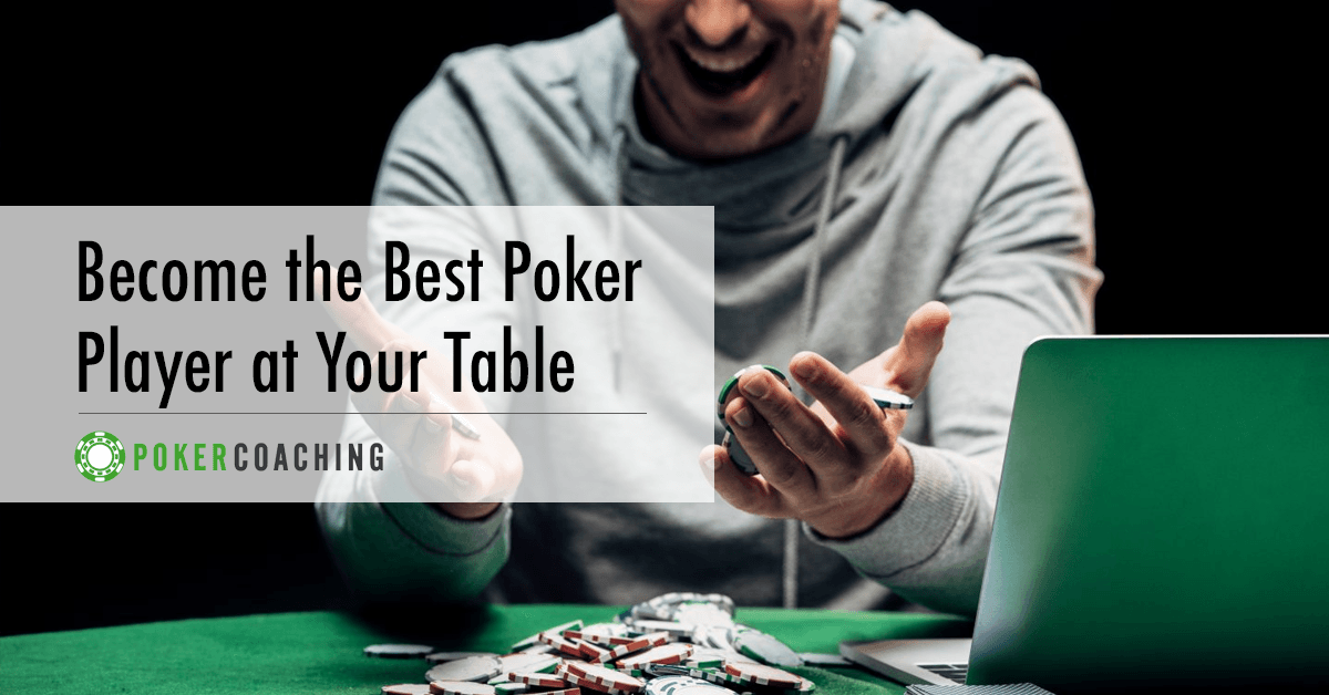 Best Poker Player Poker Coaching