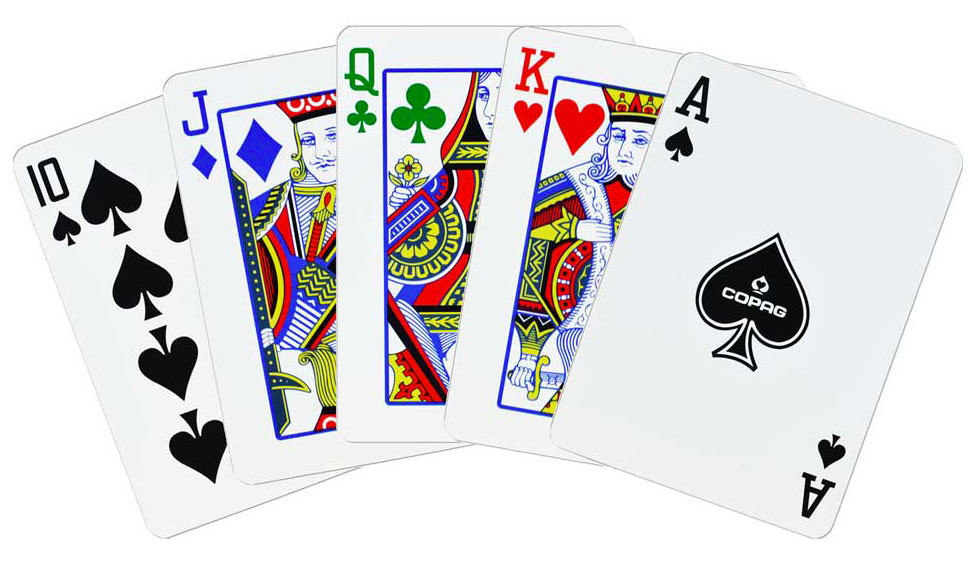 4-color playing cards
