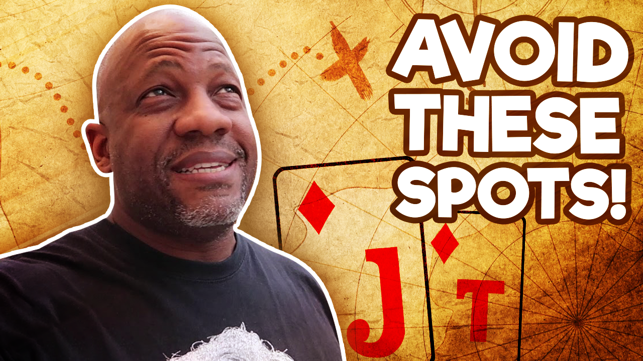 How To NAVIGATE Tough Poker Spots Featuring Poker Vlogger JAMAN BURTON